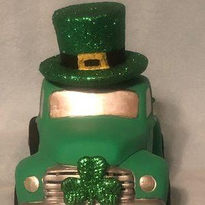 Saint Patrick Day Classic Pickup with Leprechaun